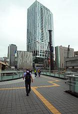 2020731blog_渋谷歩道橋開通日1