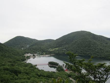 200705五輪尾根 (33)大沼・地蔵岳s