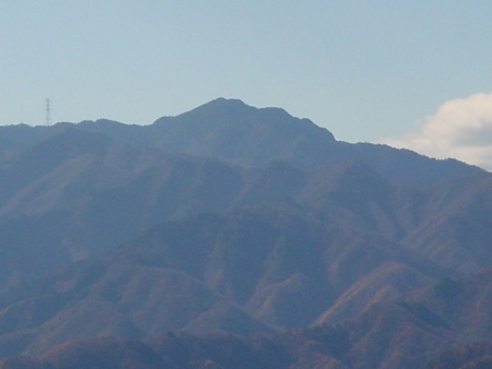 笠丸から御座山001118