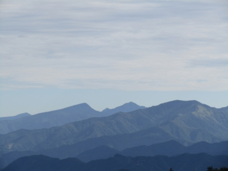 200909鈴ヶ岳・鷹巣 (15)四郎岳・燕巣山s