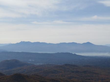 201101鼻曲山・満天山 (22)八ヶ岳s