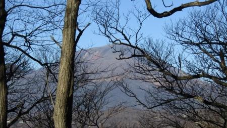 201122碓氷峠~一ノ字山~子持山 (5)浅間山s