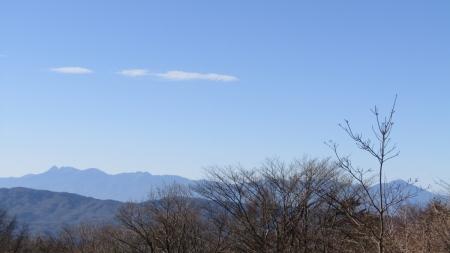 201122碓氷峠~一ノ字山~子持山 (6)八ヶ岳s