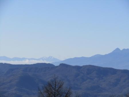 201122碓氷峠~一ノ字山~子持山 (9)赤岳・甲斐駒ヶ岳s