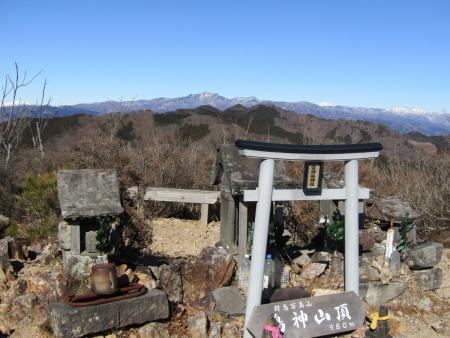 210120鳴神山 (18)袈裟丸山・皇海山s