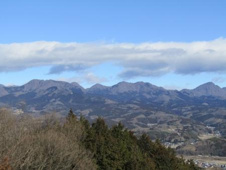 210223浅間山~猪ノ毛山 (3)榛名山s
