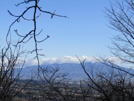 210223浅間山~猪ノ毛山 (7)赤城山s