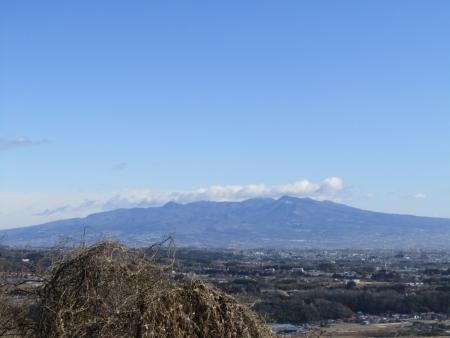 210223浅間山~猪ノ毛山 (12)赤城山s