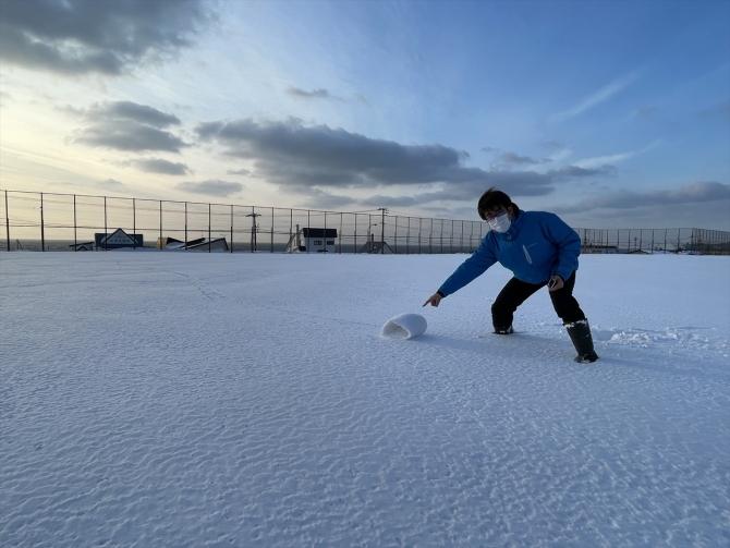 雪まくり土井