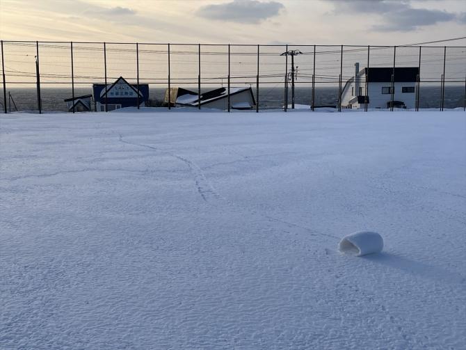 雪まくり1