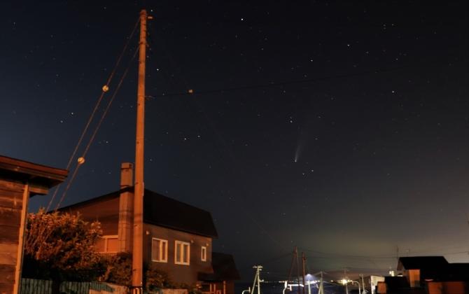 ネオワイズ彗星1