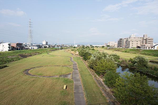 矢田川河川敷