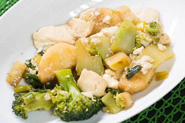 山芋と豆腐