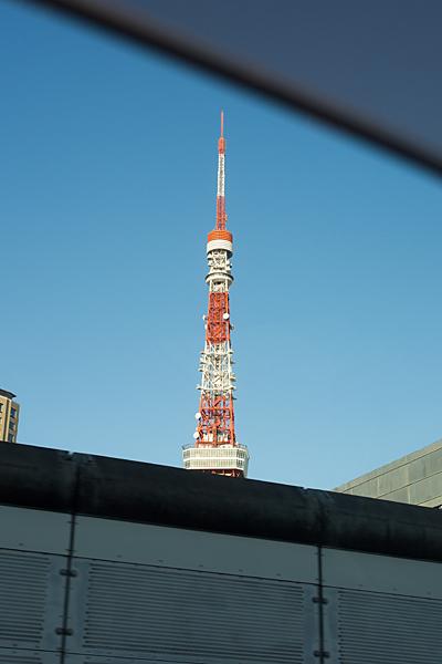 車窓東京タワー