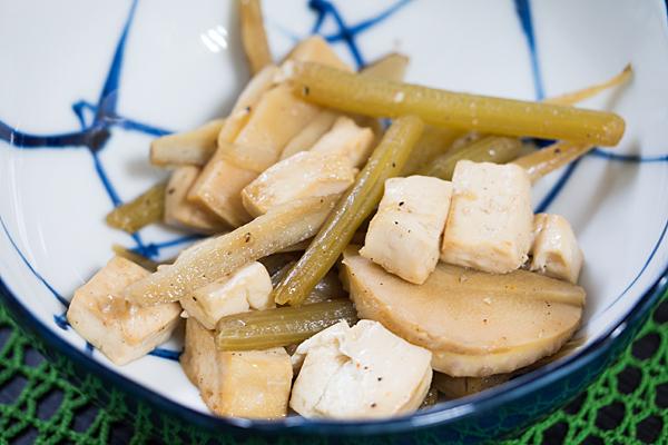 フキと豆腐
