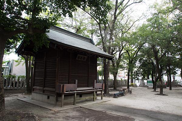 矢田白山社神楽殿