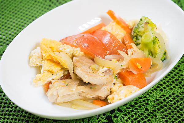鶏肉と野菜