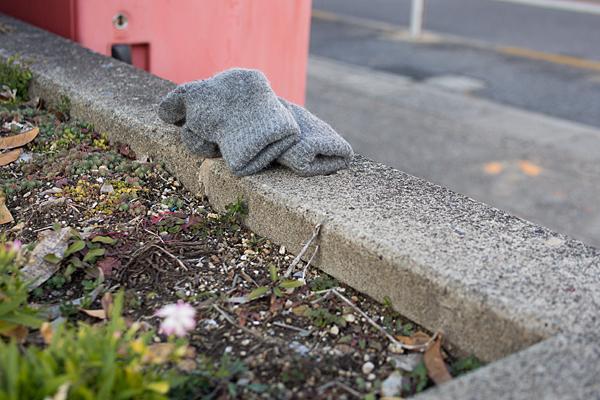 忘れ物の手袋