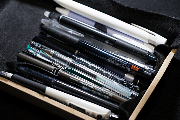 ボールペン集合写真