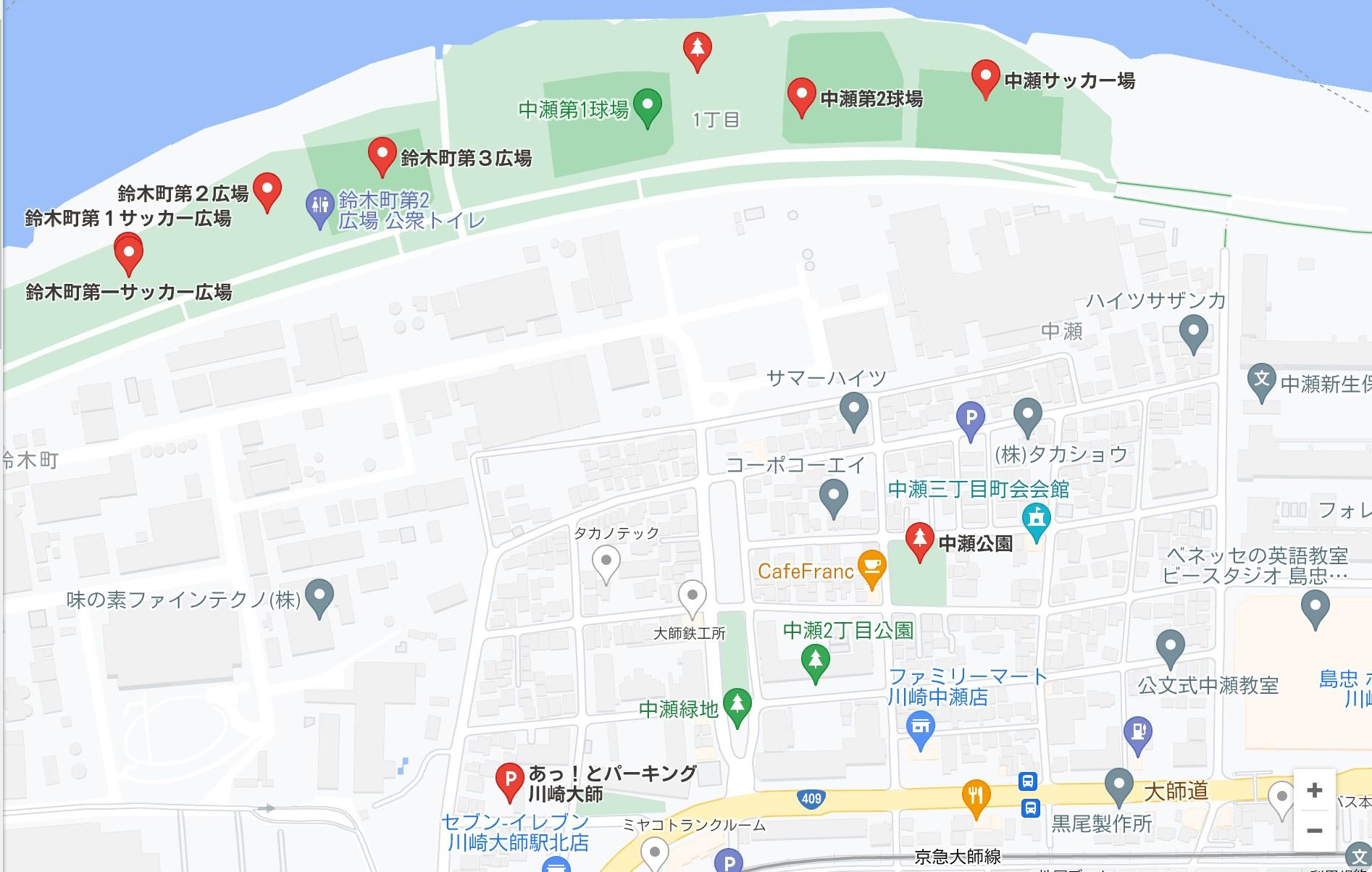 中瀬サッカー広場