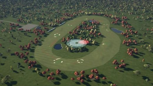 ゴルフ PGAツアー 2K21_sdt27_秋オーバル