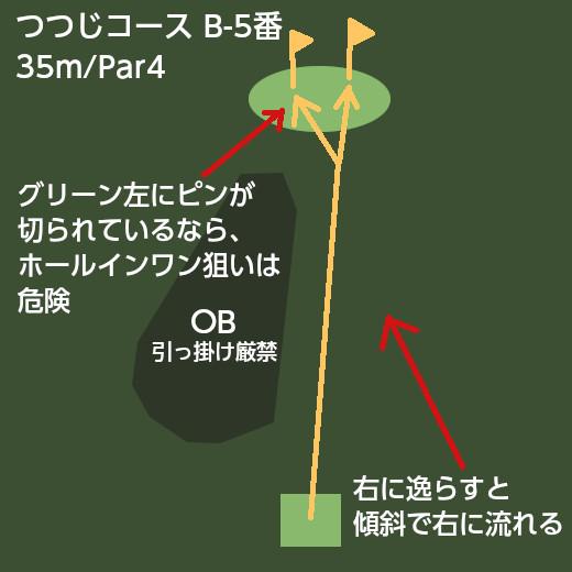 パークゴルフ名物ホール_つつじコースB-5番 (3)