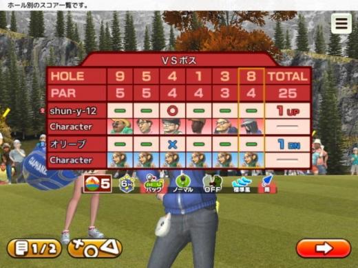クラップハンズゴルフをプレー第4回-オリーブ戦