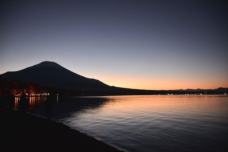 山中湖ライトアップ (1)