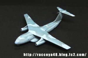 ハセガワ1/200 C-1輸送機「C-2迷彩」20200419a