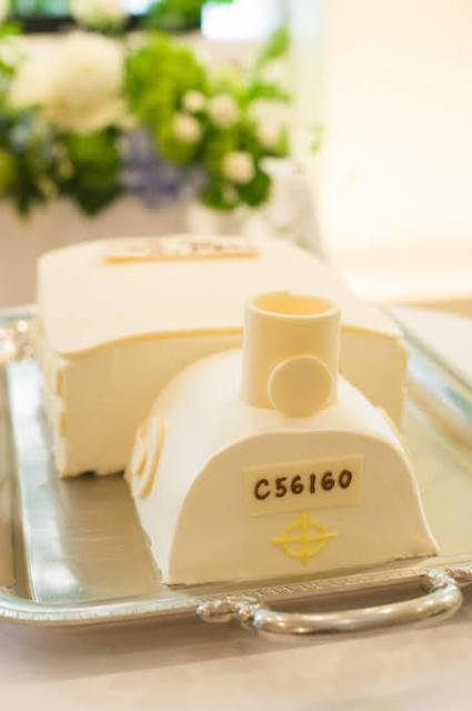 結婚式のケーキ お恥ずかしい