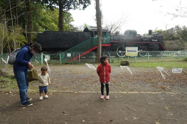 羽村動物公園に有るC58 395