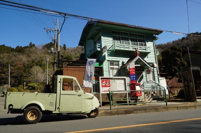 上恩方郵便局とミゼット