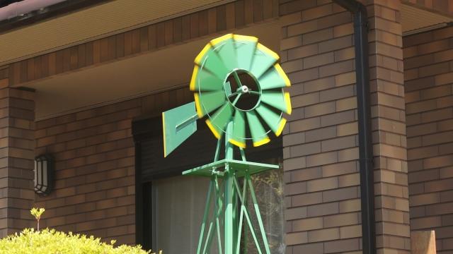 風車・WINDMILLが回る