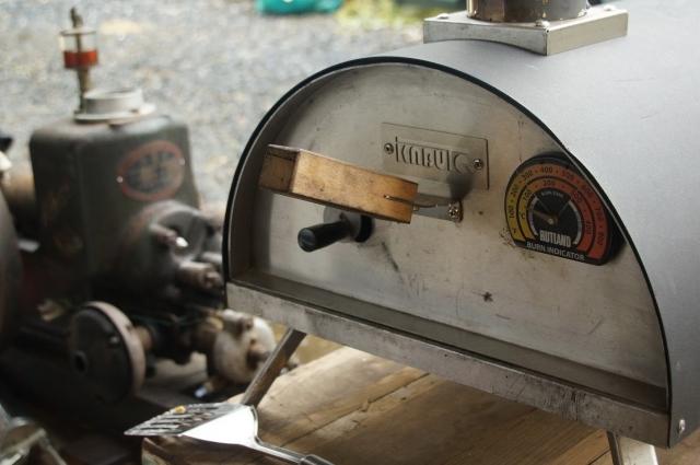 カブトビザ窯を色々楽しむ10月の寒い一日
