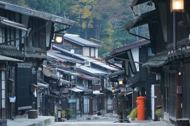 奈良井宿の風情