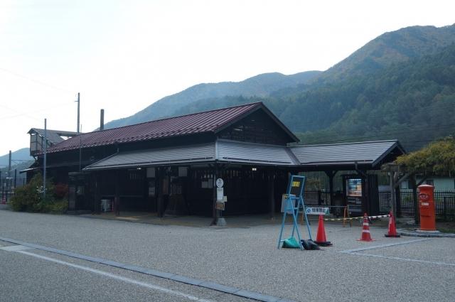 奈良井宿の駅
