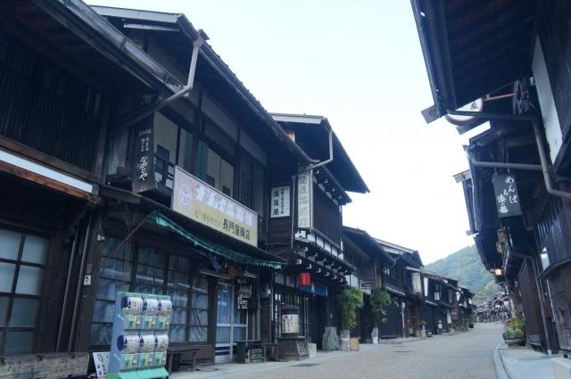 奈良井宿のかつて、電気屋さんだったと思われる建物