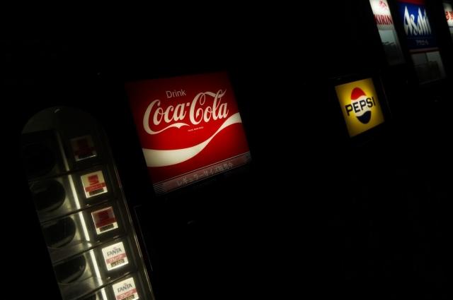 レトロなコカ・コーラ自販機