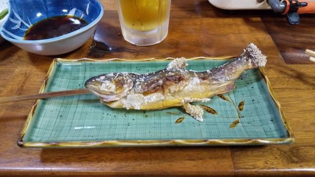 川魚はイワナでした
