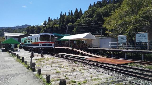 現在の奥飛騨温泉口駅