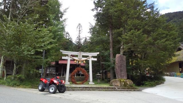 奥飛騨バギーと平湯神社