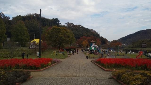 茂木、道の駅の遊具施設