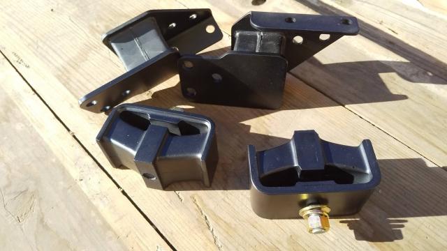 プラスティックマニア謹製 MP4,MP5エンジン・ミッションマウント
