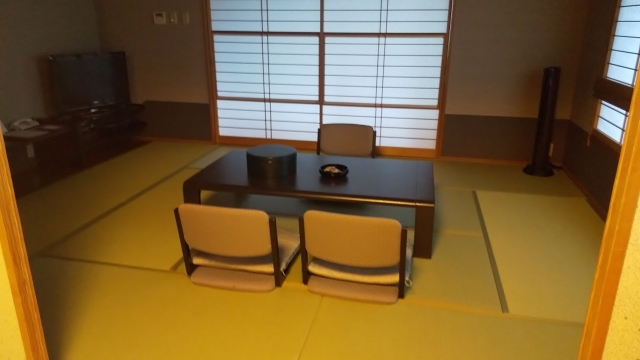 ファインビュー室山の特別室の和室