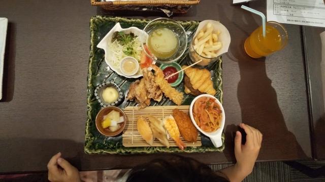 ファインビュー室山のお子様夕食