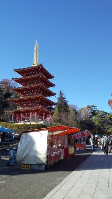 高幡不動の五重塔