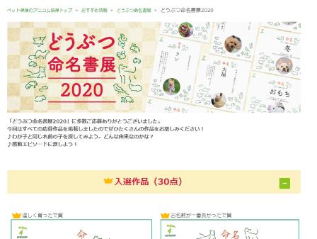 命名書展2020入選3