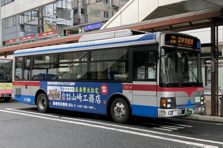 群馬バス 3314(高崎200か37)