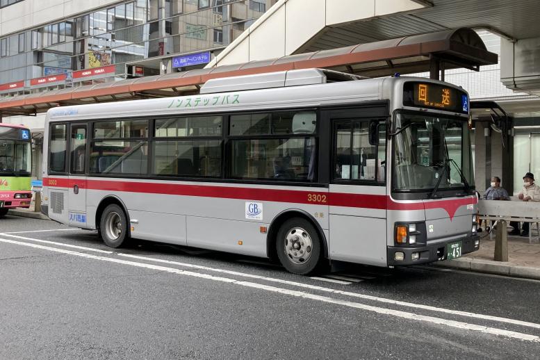 群馬バス 3302(群馬200か451)