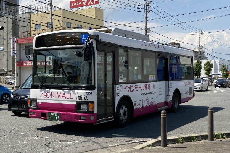 群馬バス 7203(高崎200か79)